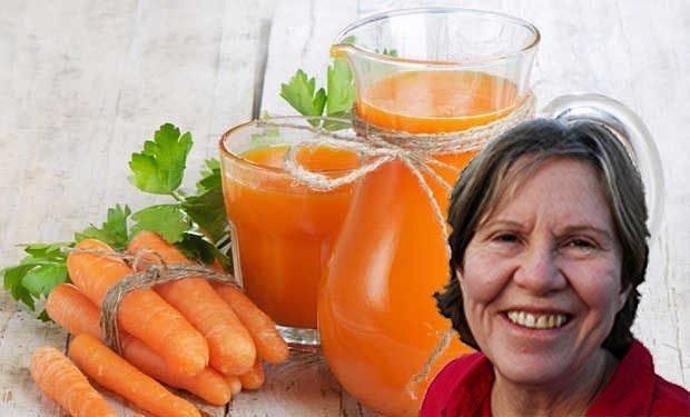 Impressionnant: combatte le cancer avec un litre de jus de carotte par jour, c'est possible