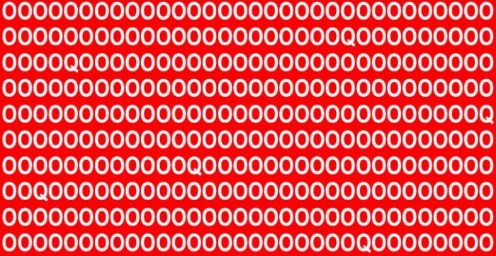 Test: Combien de Q pouvez-vous voir ? Faites appel à votre degré d'attention