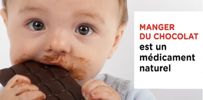 Le chocolat est un médicament naturel qui baisse la tension artérielle, prévient le cancer, renforce le cerveau et bien plus encore
