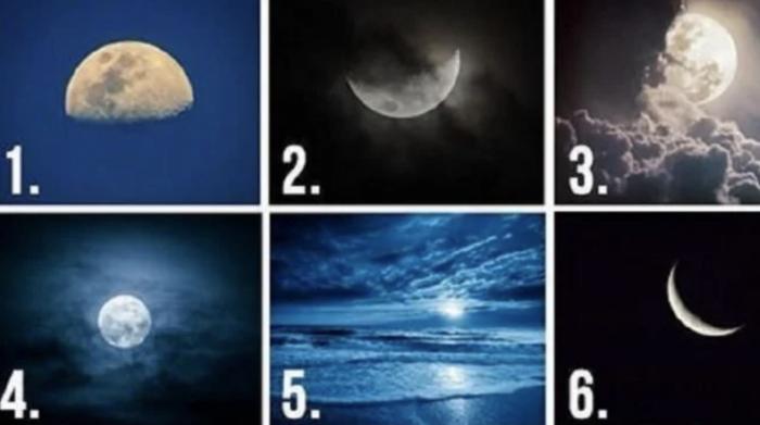 Choisissez une de ces 6 lunes pour connaitre vos pensées cachées