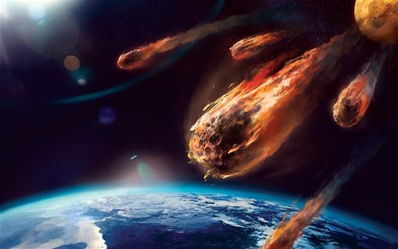 Un responsable de la NASA émet un avertissement de météores, ils sont plus menaçants que les gens le réalisent