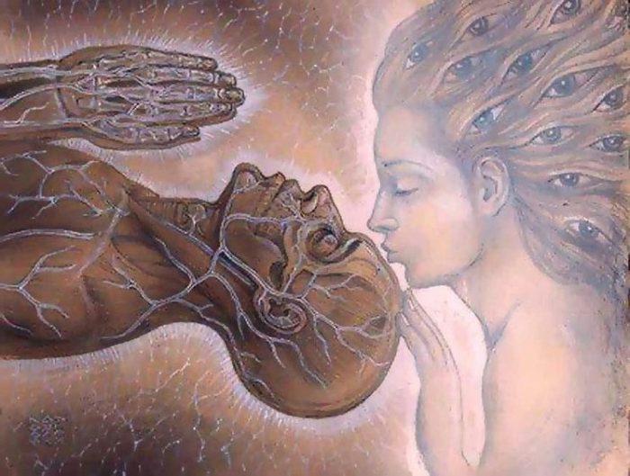 Le pouvoir extraordinaire d'un baiser du troisième œil