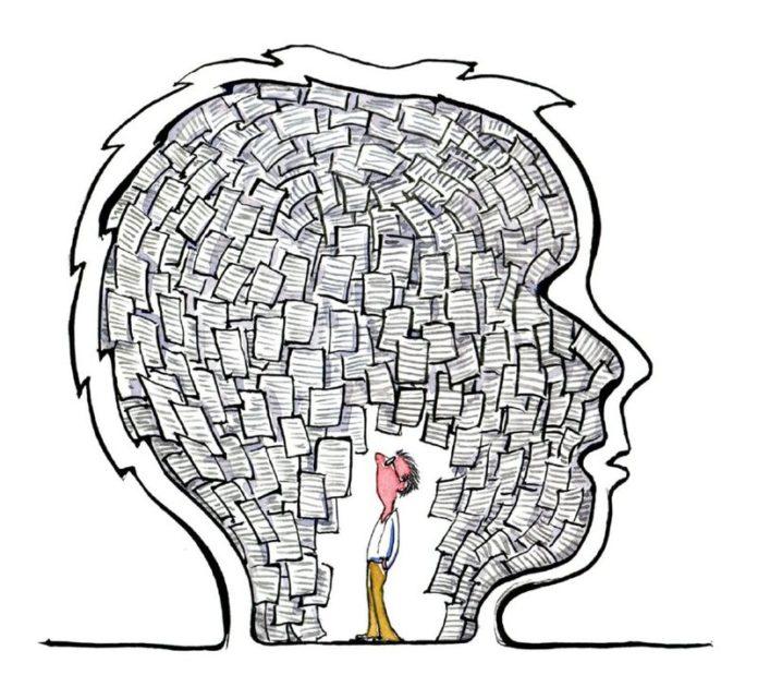 Apprenez à ne plus trop penser de nos jours.