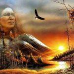 Une prière amérindienne : Quand je pars, lâchez-moi !