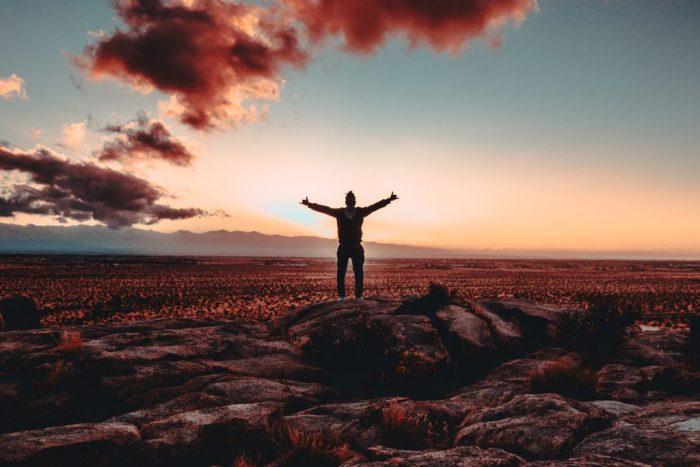 Reconnaissance envers l'univers qui m'a aidé à me tenir debout après tout ce que j'ai traversé