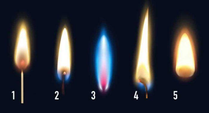 Choisissez une flamme et jetez un coup d'œil sur votre avenir!